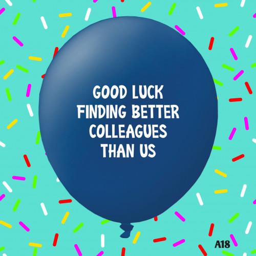Good Luck - BLUE