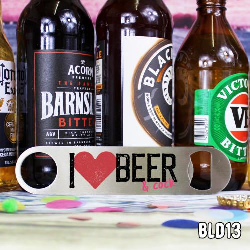 Beer Cock Bar Blade