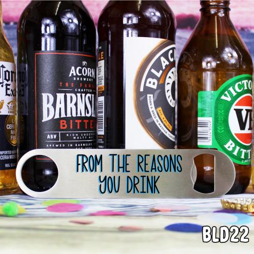 Reasons Drink Bar Blade