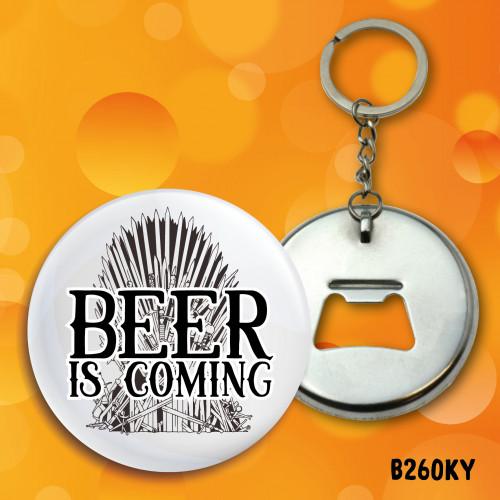 Beer Coming Bottle Opener