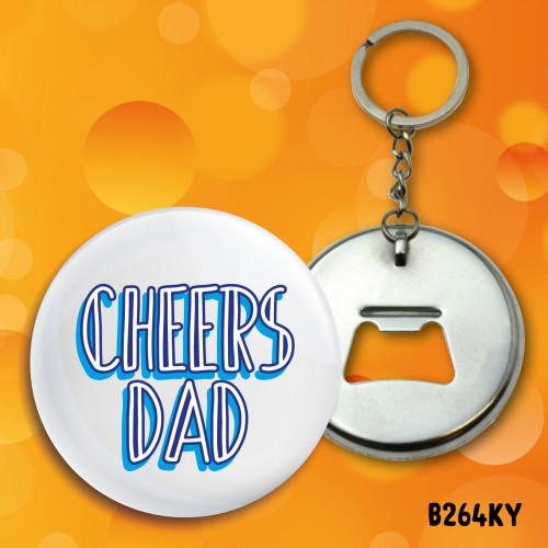Cheers Dad Bottle Opener