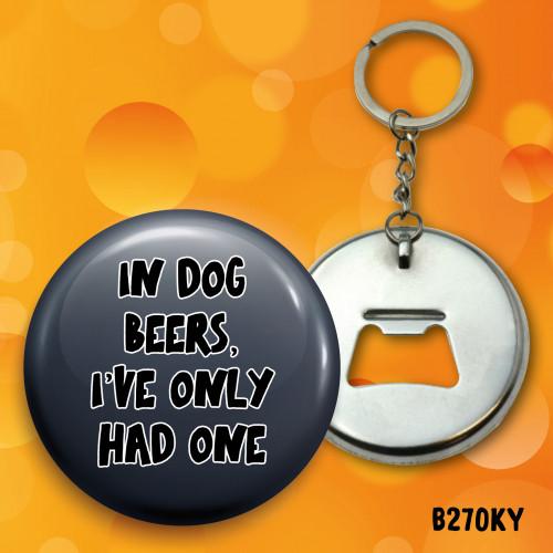 Dog Beers Bottle Opener