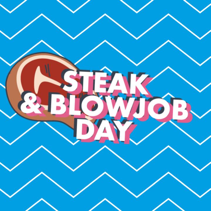 Steak & Blowjob / Cake & Fanny Day Cards