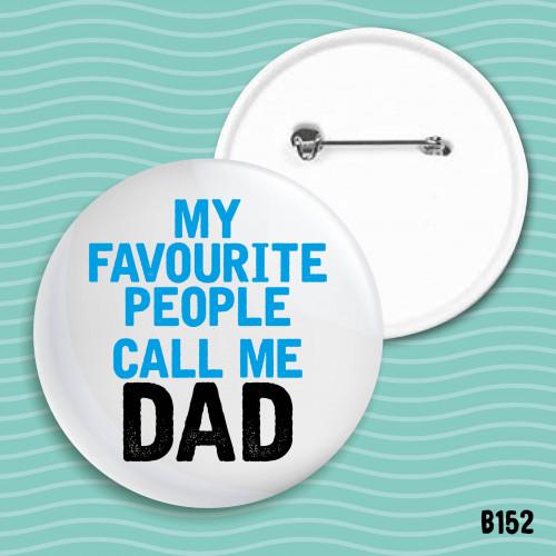 Call me Dad Badge