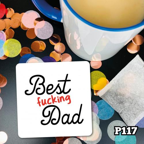 Best F Dad Coaster