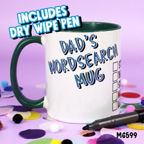 Dad's Puzzle Mug