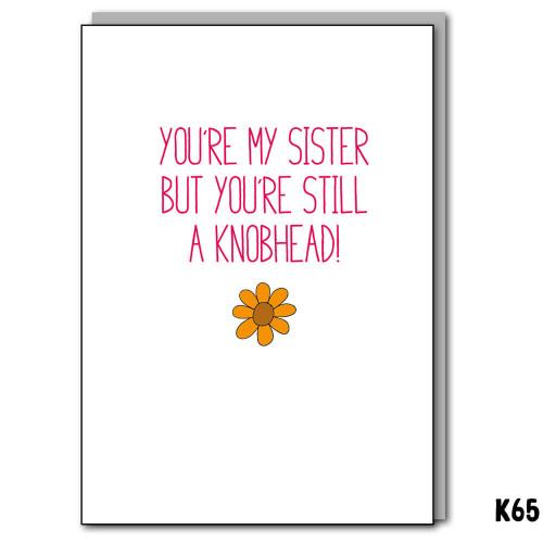 Knobhead Sister