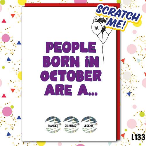 Legend October