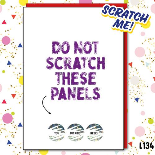 DO NOT SCRATCH