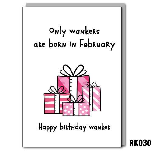February Wanker