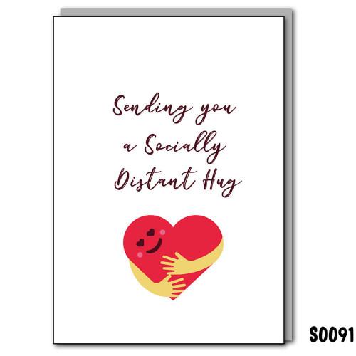 Social Distant Hug