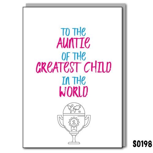Auntie Greatest Child
