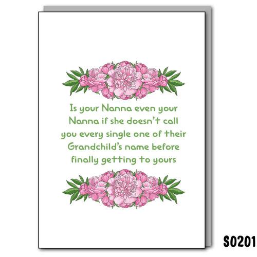 Even Your Nanna