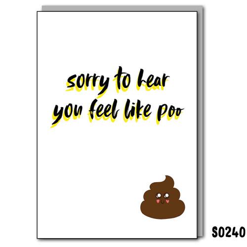 Feel Like Poo