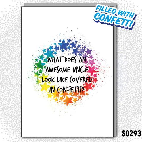 Uncle Covered Confetti
