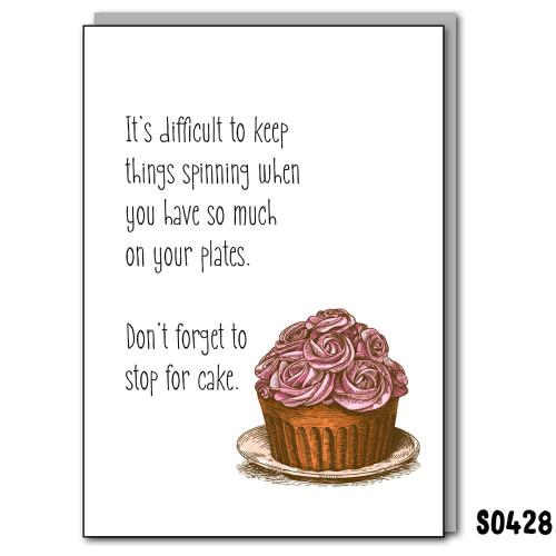 Make Time for Cake