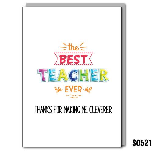 Cleverer Teacher