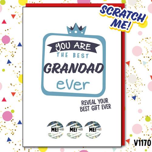 Best Grandad Ever Scratch Card