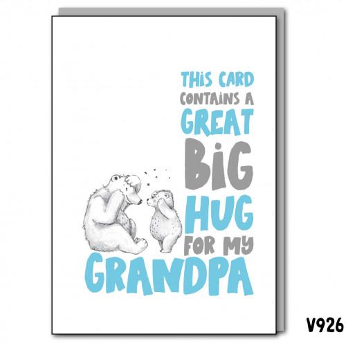 Big Hug Grandpa