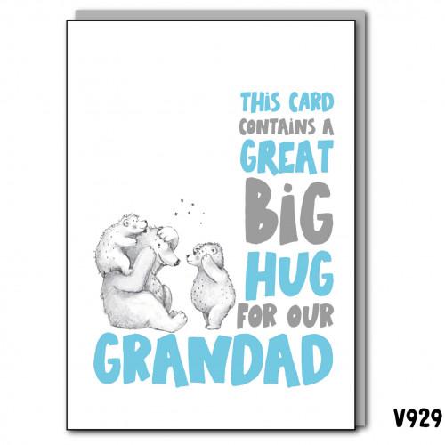 Big Hug Our Grandad