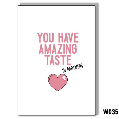 Amazing Taste