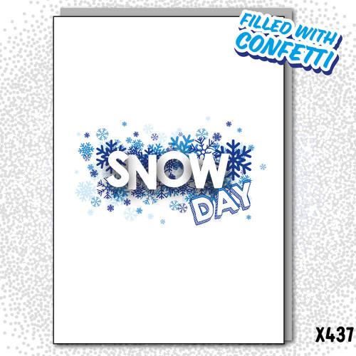 Confetti Snow Day