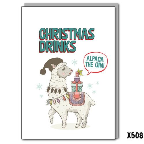 Alpaca Xmas Drinks