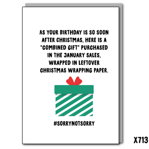 January Gift Wrap