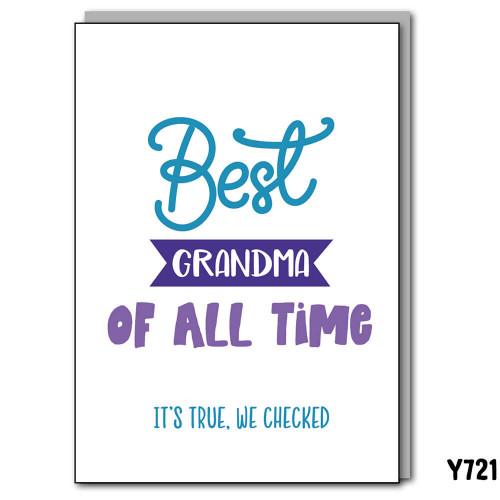 Best Grandma Checked