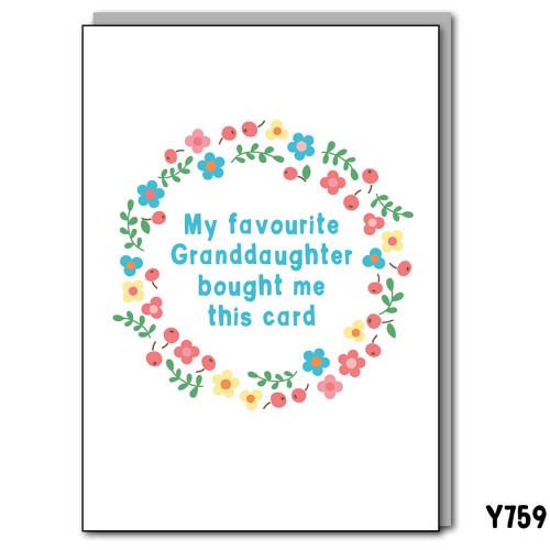 Fave Granddaughter