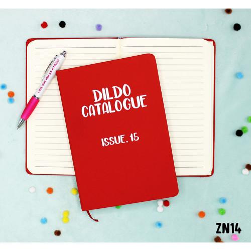 Dildo Catalogue Notebook