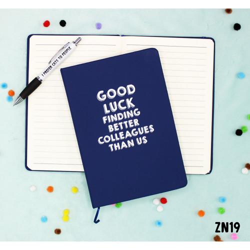 Good Luck Notebook