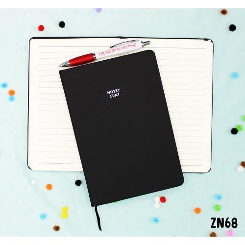 Nosey C#nt Notebook