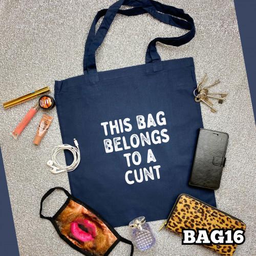 Belongs C#nt Tote Bag