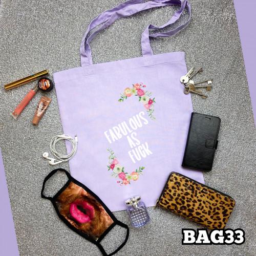 Fabulous as F#ck Tote Bag